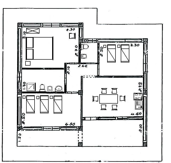 Case capo vaticano for Piantine case